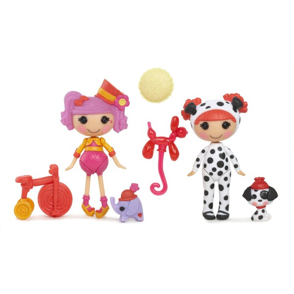 Mini Lalaloopsy, Смешинка и Искорка
