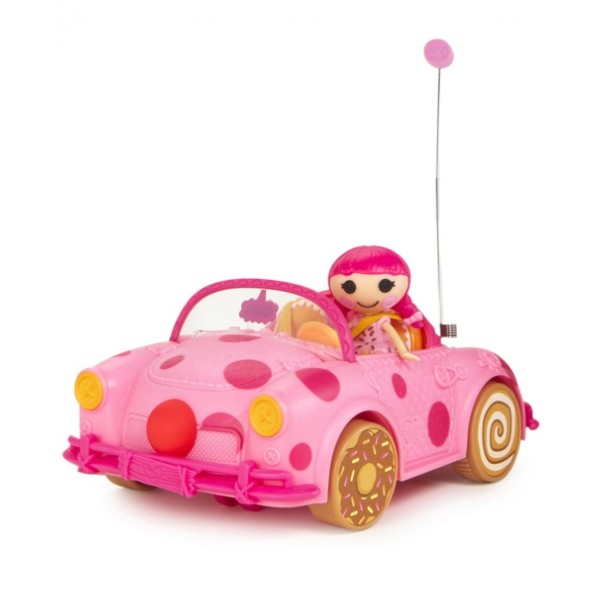 Mini Lalaloopsy в автомобиле р/у